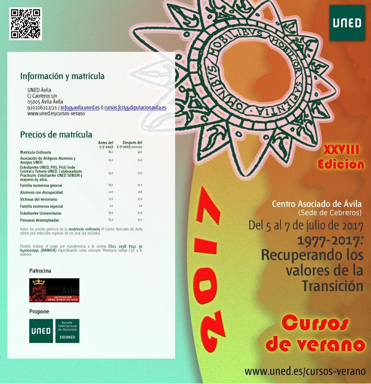 Cursos De Verano De La Uned Ayuntamiento De Cebreros