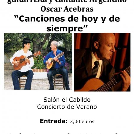 Concierto canciones de hoy y de siempre ayuntamiento for Concierto hoy en santiago